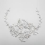 Women's / Flower Girl's Rhinestone / Crystal / Alloy Headpiece-Wedding / Special Occasion Headbands 1 Piece Clear Round