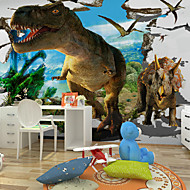 Animales / 3D / Fantasía Pegatinas de pared Calcomanías 3D para Pared,Canvas S M L XL XXL 3XL