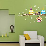 Animali / Botanical / Forma Adesivi murali Adesivi aereo da parete,pvc 20*60cm