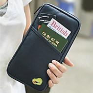 Slumpmässig färg-Business / Multifunktion-Tyg-Credit Card Holders