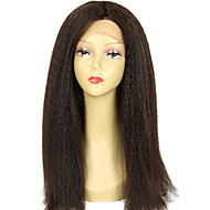 Coarse Italian Yaki Wig Virgin Brazilian Kinky Straight 130 Density Full Lace Human Hair Wigs with Baby Hair
