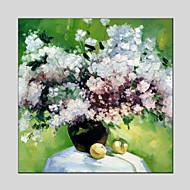 Ručně malované Zátiší / Květinový/Botanický motivModerní / Klasický / Tradiční / Pastýřský / evropský styl Jeden panel Plátno