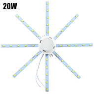 1 pcs YWXLIGHT 20W 40 SMD 5730 1600-1920 lm Cool White Decorative LED Ceiling Lights AC 220-240 V