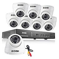 ZOSI® 8CH 960H DVR 8PCS 1000TVL IR Outdoor Video Surveillance Security Camera System 8 channel DVR Kit