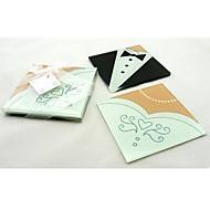 Bride and Groom Coaster (2pcs/box)
