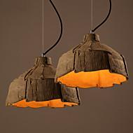 MAX 60W מנורות תלויות ,  מסורתי/ קלאסי אחרים מאפיין for סגנון קטן קרמיקהחדר שינה / חדר אוכל / חדר עבודה / משרד / חדר משחקים / מסדרון /