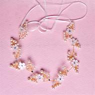 Donne Bambina Cristalli Perle false Copricapo-Matrimonio Occasioni speciali Fasce 1 pezzo