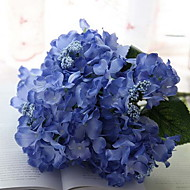 "16.9"" Six Heads Aritificial Silk Hydrangea Set of 1 (More Colors)"