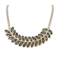 Dark Blue / Black / White / Yellow / Blue / Purple Pendant Necklaces Wedding / Party / Casual 1pc Jewelry