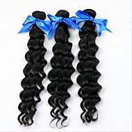Az emberi haj sző Brazil haj Mély hullám 18 hónap 3 darab haj sző
