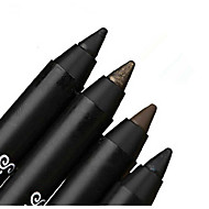 Eyeliner Pencil Dry Long Lasting / Natural Black / Purple / Golden / White / Coffee Eyes