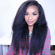 """cabelo virgem brasileira cheia do laço perucas perucas de cabelo humano para as mulheres negras 8 """"-30"""" yaki peruca dianteira do laço em"""