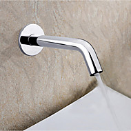 Electronic Automatic Sense Basin Tap Wall Mount Water Saving Faucet Battery Or 220V Power