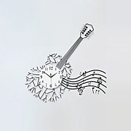 Quadrada / Inovador Moderno/Contemporâneo Relógio de parede,Florais/Botânicos / Personagens / Cenário / Música / Casamento / FamíliaVido