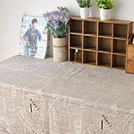 jornal tabela de moda pano hotsale lençóis de algodão de alta qualidade mesa de café quadrada toalha de capa de pano