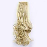 """החרושתי 50 ס""""מ אורך הזהב לאגד מכירה ישירה שבצבוץ תלתל קוקו שיער (צבע 25/613)"""