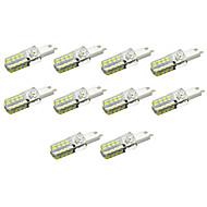 4W G9 LED corn žárovky Zápustná 32 led SMD 2835 360lm lm Teplá bílá / Chladná bílá Ozdobné AC 220-240 V 10 ks