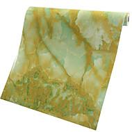 0.6*1M Refurbished Sticker Waterproof Cabinet Wardrobe Stickers Jadeite Jade Marble Adhesive Wallpaper