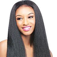 ιταλικά Yaki περούκα φυσικό φως kinky ευθεία 100% παρθένα βραζιλιάνα δαντέλα μπροστά περούκες ανθρώπινα με τα μαλλιά του μωρού