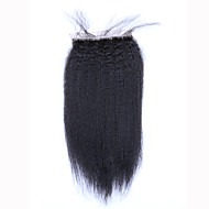 8 10 12 14 16 18 20 Tissée Main Droit crépu Cheveux humains Fermeture Brun roux Dentelle Suisse 45 gramme Taille du Bonnet