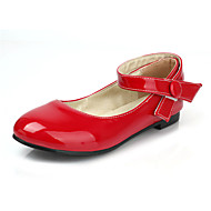 Women's Shoes Patent Leather Flat Heel Mary  / Comfort Flats Dress / Casual Yellow / Pink / Red / White