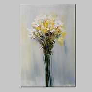 Large Hand Painted Flower Oil Painting On Canvas Modern Wall Art Picture With Stretched Frame Ready To Hang