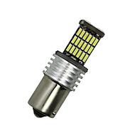 2x vit 1156 G18 BA15s 45 4014 ledde blinkers bak glödlampa d068 12-24V