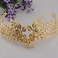 Women's Alloy Headpiece-Wedding / Special Occasion Tiaras / Hair Combs 1 Piece
