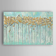 Hand Painted Oil Painting Landscape Golden Woods with Stretched Frame 7 Wall Arts®