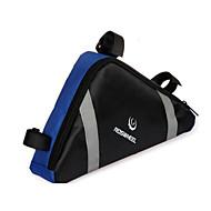 ROSWHEEL® Sykkelveske 2.2LVesker til sykkelramme Vanntett Glidelås Fukt-sikker Støtsikker Anvendelig Sykkelveske PVC Klede Sykkelveske