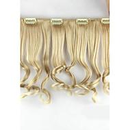 Extensões de cabelo humano Sintético Aplique de cabelo