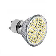 4W GU10 / GU5.3(MR16) / E26/E27 Lâmpadas de Foco de LED MR16 60SMD SMD 2835 300 - 350LM lm Branco Quente / Branco Frio DecorativaAC