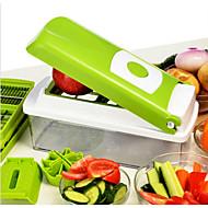 1 τμχ Apple Καρότο Πορτοκαλί Κρεμμύδι Αγγούρι Ντομάτα Cutter & Slicer For για Φρούτα για λαχανικών Ανοξείδωτο ατσάλιΠολυλειτουργία Υψηλή