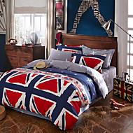 מיטב כיסוי מיטה באיכות גבוהה סט מצעים דגל למכור סדין למיטה ייחודי לעיצוב אופנה drap דה מלכת 4pcs מצעים המוארים