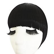 naturalna czarna z obręczy włosów podwójnych świątyń do czystego hukiem (naturalna czarna)