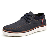 Heren Sneakers Comfortabel Vulcanized Shoes Canvas Denim Lente Zomer Herfst Winter Sportief Causaal Comfortabel Vulcanized Shoes Veters