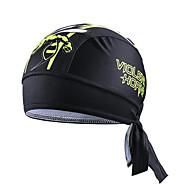 CHEJI 자전거/싸이클링 모자 남녀 공용 통기성 / 수분 투과율 / 빠른 드라이 / 정전기 방지 / 보온 / 탈부착 가능한 캡 / 초경량 재질 / 피부마찰 감소 / 땀 흡수 기능성 소재 / 소프트 폴리에스터 패션 블랙 프리 사이즈캠핑 & 하이킹