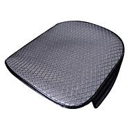ajustement universel pour la voiture, camion, suv, ou van drap plat coussin de siège de voiture coussin de siège avant (1 pieces set) gris