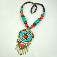 Women's Alloy / Resin Necklace Anniversary / Gift / Daily / Causal / Office & Career / Outdoor Turquoise