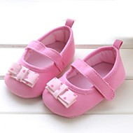 Girl's Flats Summer Round Toe / Comfort Cotton Outdoor Pink