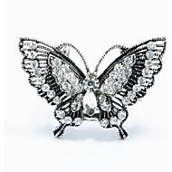 Kadın Broşlar Moda kostüm takısı alaşım Animal Shape Kelebek Mücevher Uyumluluk Düğün Parti Özel Anlar Doğumgünü Günlük