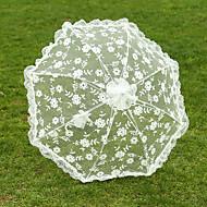 """Svatba Krajka Deštník 75 cm (cca 29,5"""") Kov 72 cm (cca 28,4"""")"""