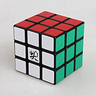 Dayan® Smooth Speed Cube 3*3*3 Magische kubussen Zwart Fade Zhanchi Anti-pop / instelbare veer ABS