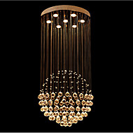 "Modern Ceiling Crystal Lamp Chandeliers Pendant Light with Spherical Design D23.62"" UL VDE"