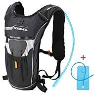 Kerékpáros táska 4LHidratáló táska és ivótasak hátizsák Vízálló Viselhető Ütésálló Többfunkciós Kerékpáros táska Ruhaanyag Terylene