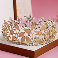 Women's Rhinestone / Crystal / Alloy Headpiece-Wedding / Special Occasion Tiaras 1 Piece