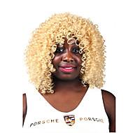 parrucca bionda senza colla donne di modo di ricci capelli corti per african american