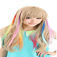Synthetische Colorful Clip In Hair Extensions 1 Clips 9Color