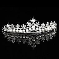 Dame Rhinsten Legering Imiteret Perle Medaljon-Bryllup Speciel Lejlighed Udendørs Diademer 1 Stykke