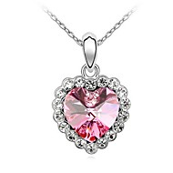 Thousands of colors  Women's Alloy Necklace Daily Crystal-1-131